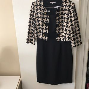 Sandra Darren dress with jacket